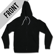 Halftone Slash - Lightweight Zip up Hoodie