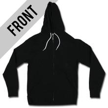 Halftone Slash - Lightweight Zip up Hoodie