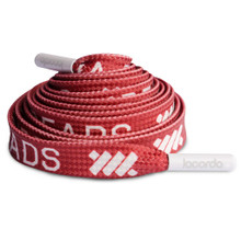 Lacorda - Maroon Repetition Shoelace Belt