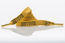 Gold Mythical Shoelace Belt - Lacorda X Revive Collab