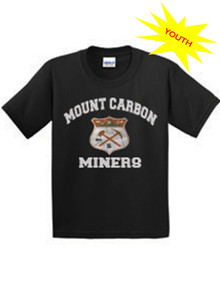 Youth Miners Crest Black Tee