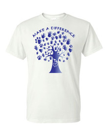 SRMS Make a Difference Tee - BLUE