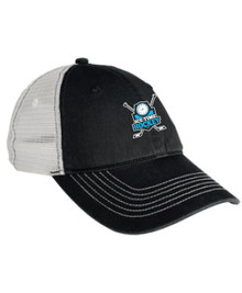 Ice Time Hockey Embroidered Mesh Ball Cap