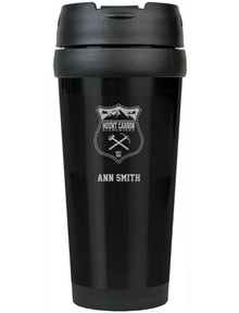 Mount Carbon Engraved Coffee  Tumbler