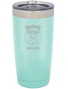 Mount Carbon Engraved Yeti-Style 20 oz Tumbler