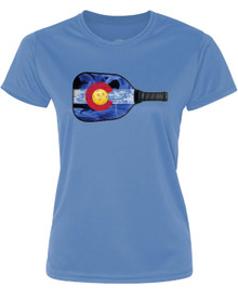 Women's Colorado Pickle Ball Tee