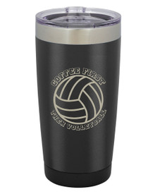 Coffee First Then Volleyball 20 oz Tumbler