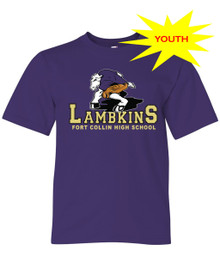 3 Point Lamb Youth Tee