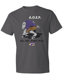 All Out Every Play Adult Tee