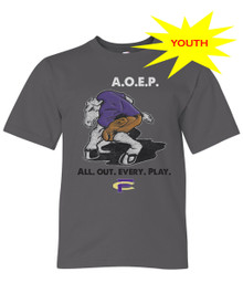 All Out Every Play Youth Tee