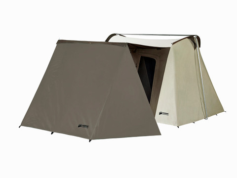 Image 1  sc 1 st  Kodiak Canvas & Canvas Wing Vestibule Accessory for 10x14 Flex-bow tent - Kodiak ...