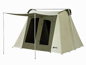 Image 1  sc 1 st  Kodiak Canvas & 10 x 10 ft. Flex-Bow Canvas Tent - Deluxe - Kodiak Canvas