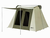 10 x 10 ft. Flex-Bow Canvas Tent - Deluxe