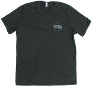 S-ONE Helmet Co. - Small Seal Logo T-Shirt - Charcoal Black Tri-Blend