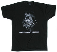 S-ONE Helmet Co. - Gives Great Helmet - T-Shirt - Black