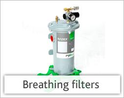 Breathing filters