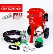 100ltr Redline Contractor Blast Pot Kit