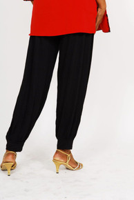 Ladies Pleated Salwar - Black