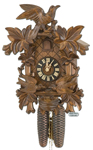 8 Day Carved Cuckoo Clocks