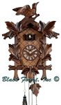 Quartz Carved Cuckoo Clocks