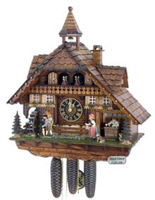 Beautiful Cuckoo Clock from The Black Forest in Germany