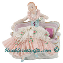 Dresden Lace Porcelain Dolls from Germany.