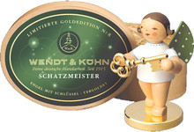 650-121-LE Wendt and Kuhn 2015 Angel with Gold Plated Key