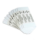 Extra Cleaning Cards (double sided), 50 count, #86131