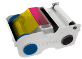 Fargo C50 YMCKO Ribbon, 100 Prints #45410