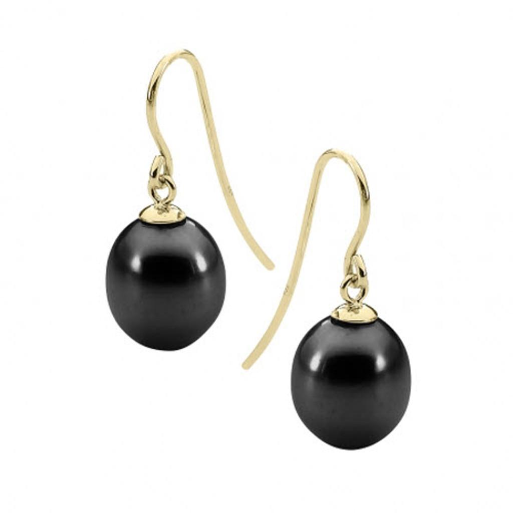 stylerocks-black-8mm-pearl-yellow-gold-drop-earrings