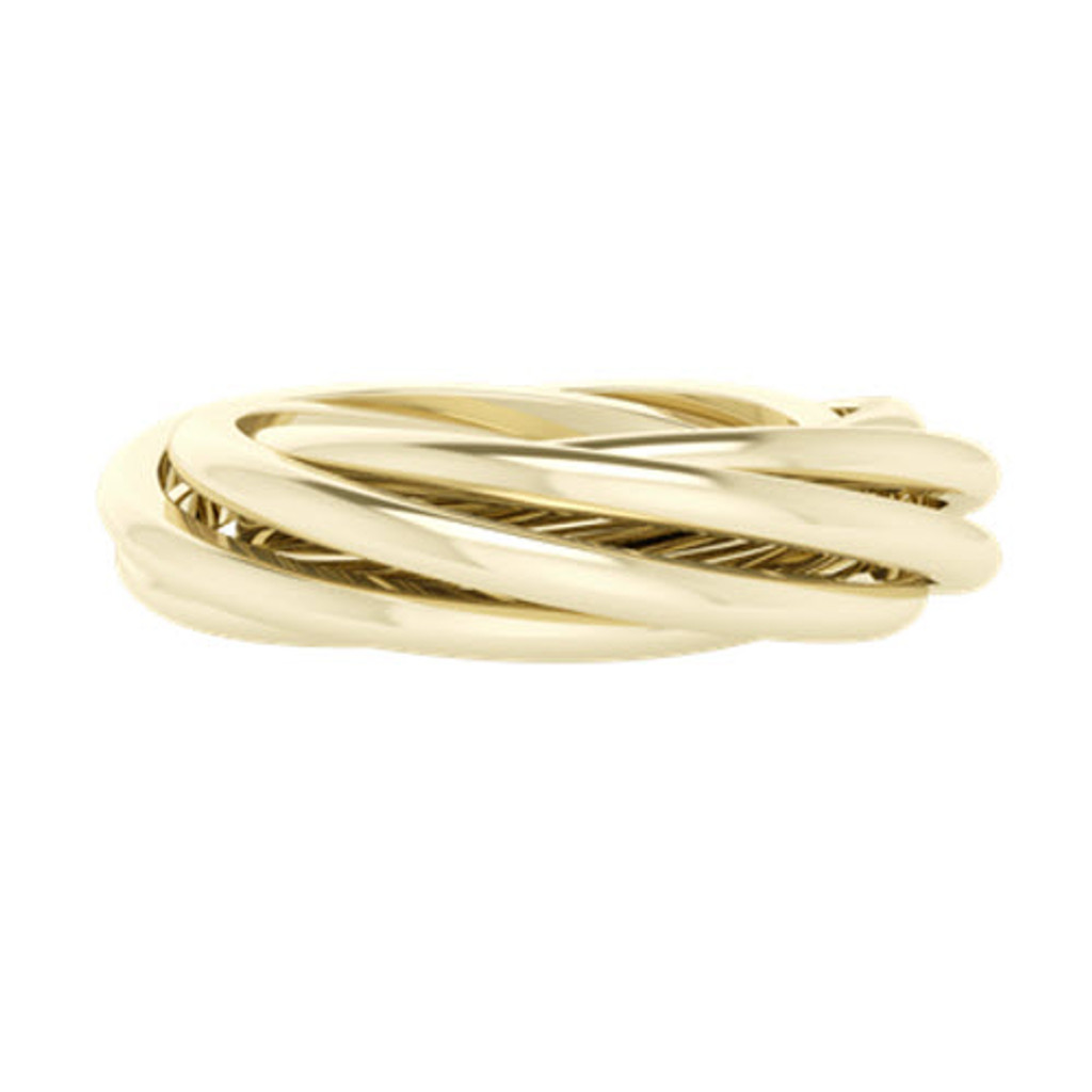 stylerocks-9ct-yellow-gold-russian-wedding-ring-gemelle-six-band-front