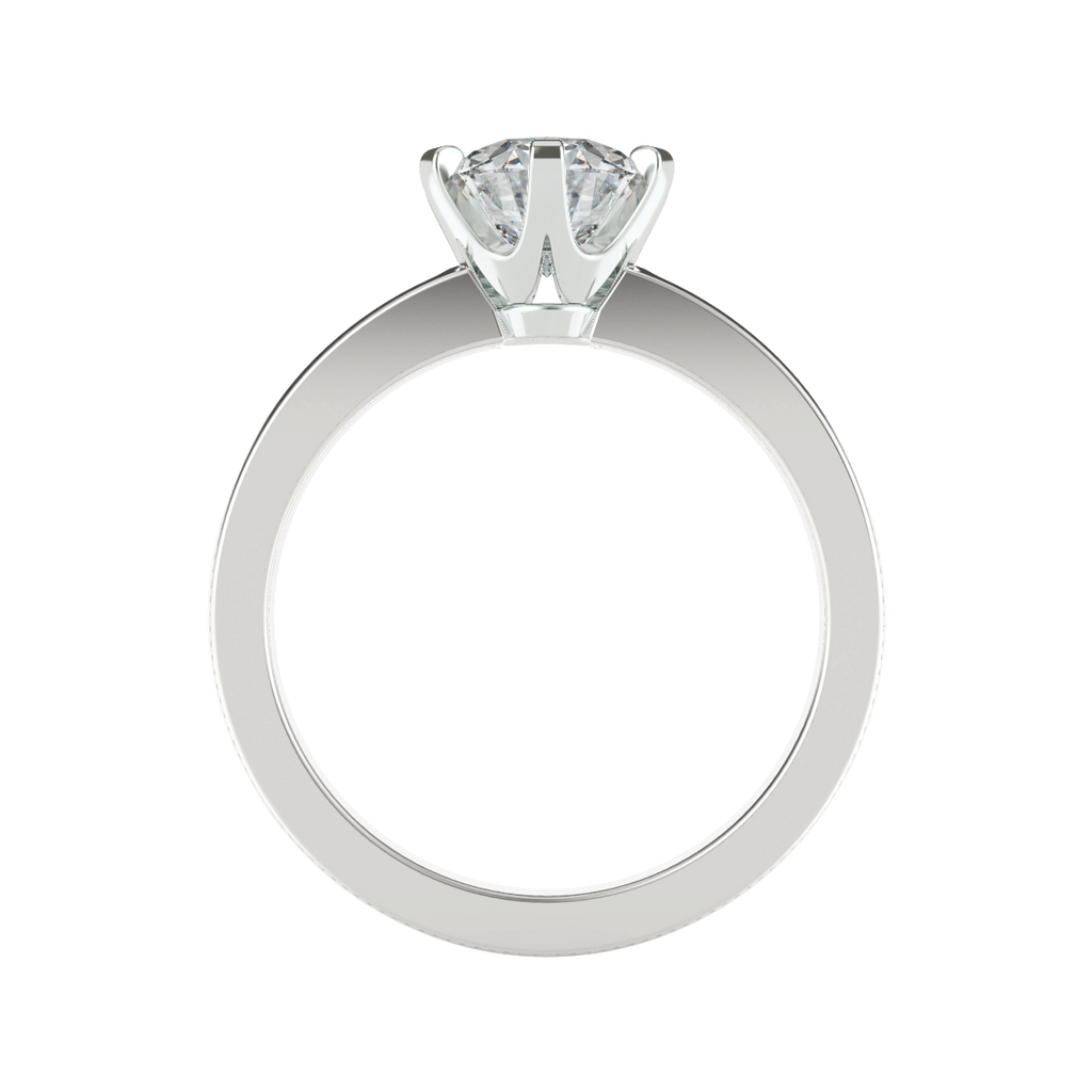 round-brilliant-1carat-diamond-6-claw-engagement-ring-channel-set-diamond-band-18-carat-white-gold-stylerocks