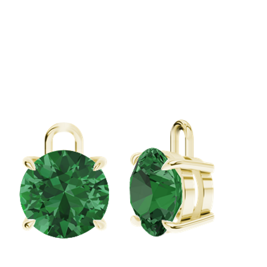 stylerocks-emerald-9ct-yellow-gold-round-brilliant-earrings-detachable-drops-only