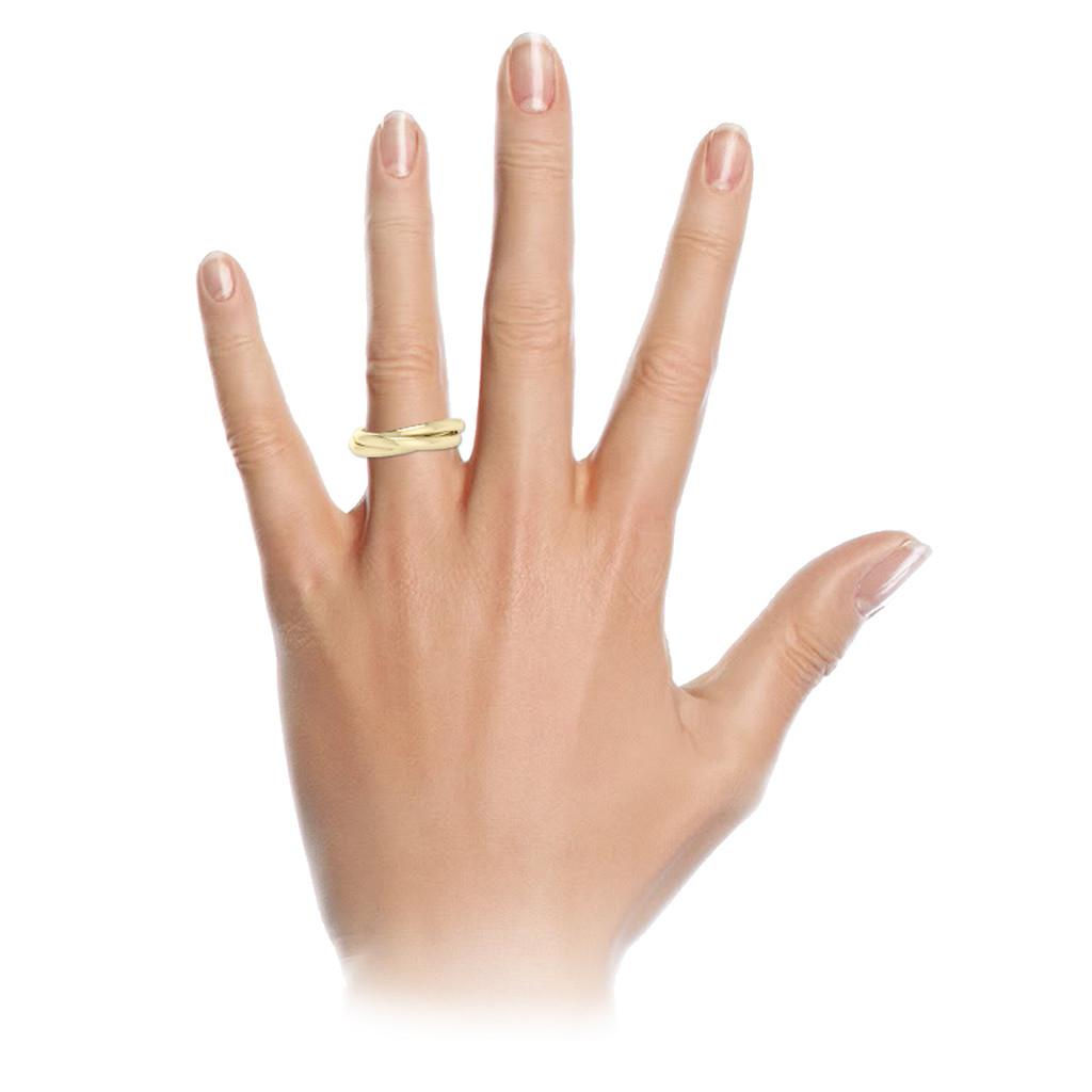 Diamond Russian Wedding Ring 9ct White Gold StyleRocks
