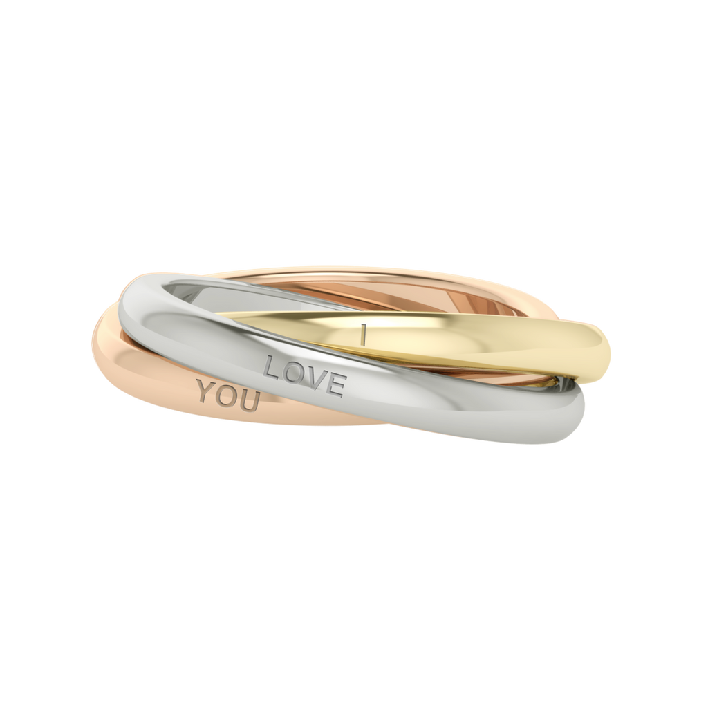 Stylerocksmultigoldrussianweddingringwillowengraved