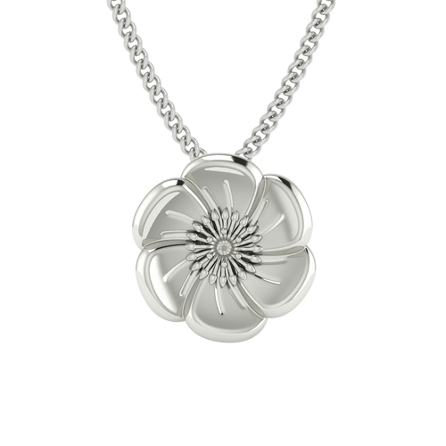 Poppy Necklace - Sterling Silver