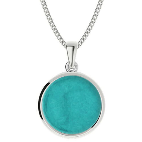 Amazonite Sterling Silver Pendant
