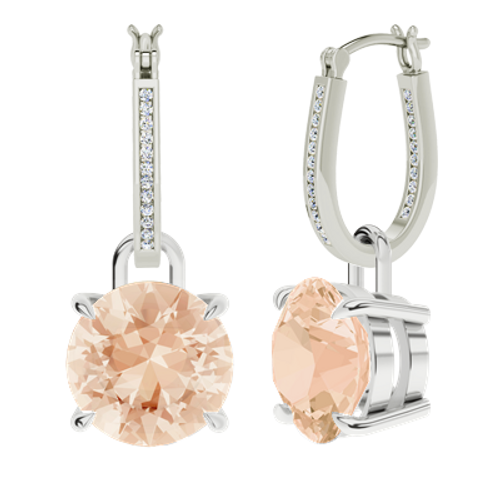 white-gold-diamond-hoops-morganite-drop-earrings