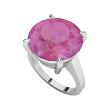 round-brilliant-cut-pink-sapphire-sterling-silver-ring