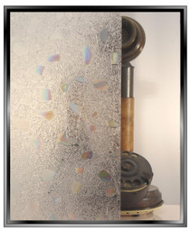 Cracked Stone - Static Cling Window Film