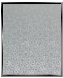 wf Flower Gradient - Wide Format - DIY Decorative Privacy Window Film