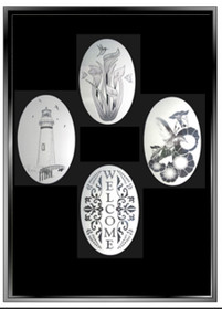 xx Create Your Combo Pack - 5  Decorative Window Decals