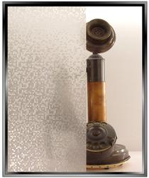 Pixels - Static Cling Window Film