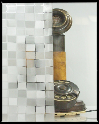 Glass Mosaic - Static Cling Window Film