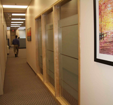 graphic frost window films office privacy Toronto image