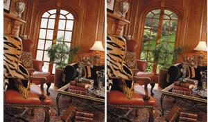 glare reduction with window film image