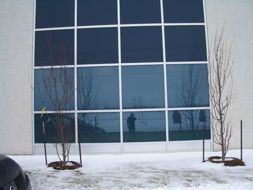 warehouse after privacy window film for added security