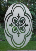 Decorative Etched Pattern Decorative Window Decal