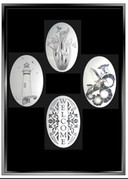 xx Create Your Combo Pack - 5 Etched Pattern Decorative Window Decals