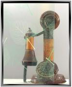 dp Transparent Green Leaf - DIY Decorative Window Film